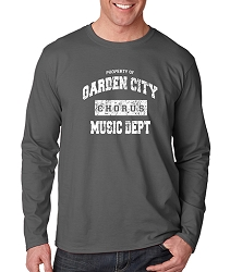 Property of Garden City Long Sleeve Property of Garden City Music Dept.